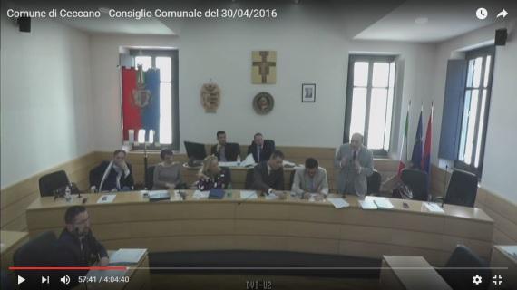 Stefano Gizzi consiglio comunale 30 aprile 2016