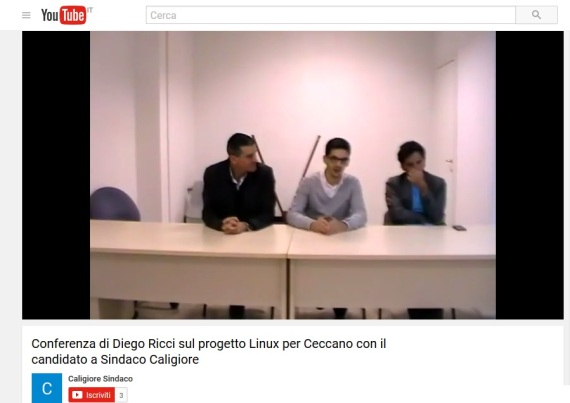 Caligiore conferenza risparmio open source