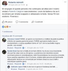 Adinolfi post